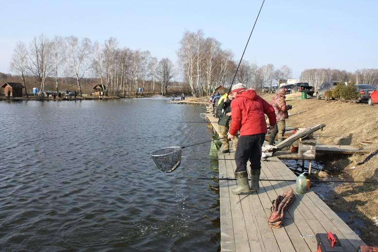 Рыбалка в домодедовском районе