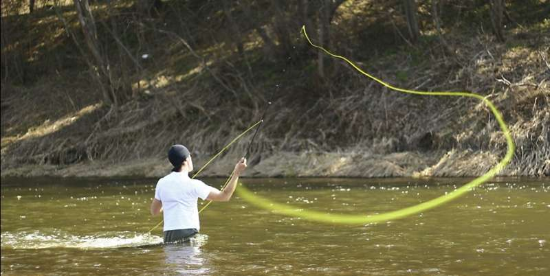 Ловля рыбы нахлыстом для начинающих