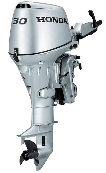 4-тактный лодочный мотор хонда: принцип работы и преимущества