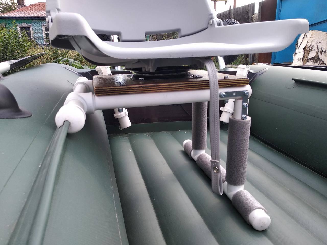 Тюнинг моторных надувных лодок пвх своими руками (часть2)
