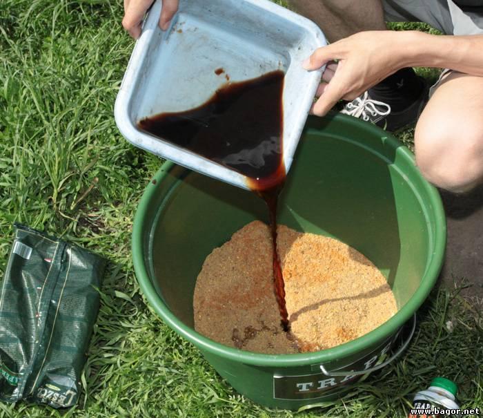 Меласса для рыбалки - изготовление своими руками и использование