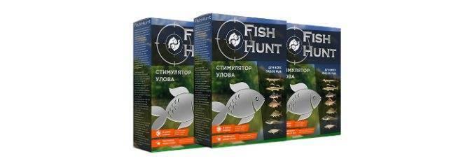 Fish hunt – стимулятор улова для рыбы