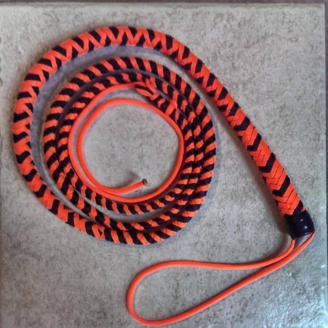 Как сделать кнут своими руками: плетение хлыста из паракорда