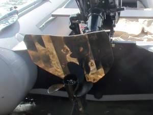 Для чего нужно гидрокрыло на лодочном моторе