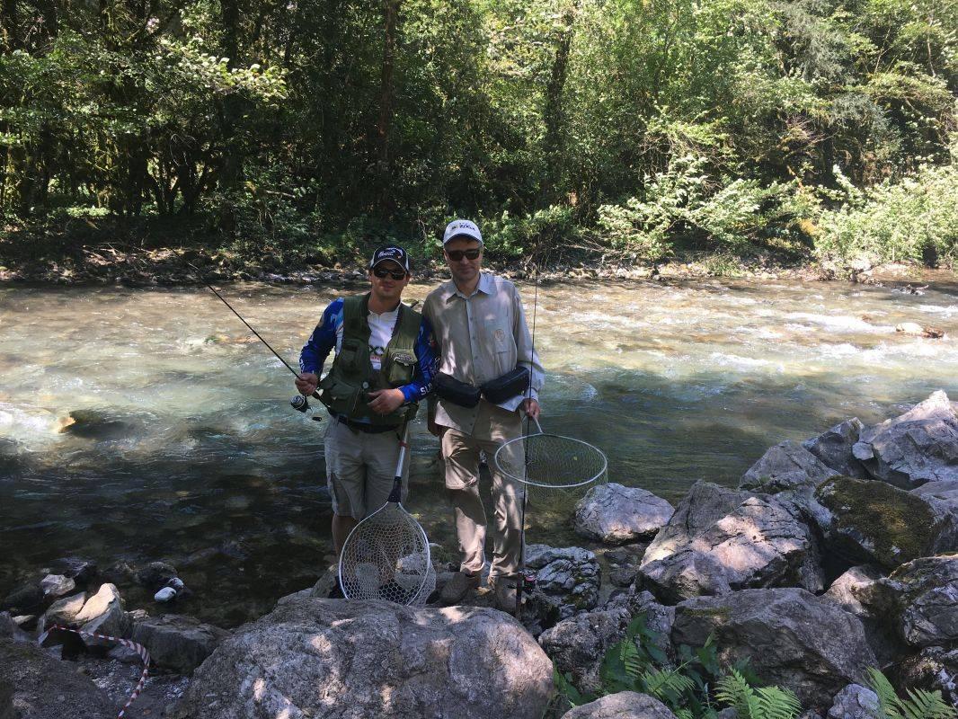 Рыбалка в абхазии на море реках и озере рица фото видео