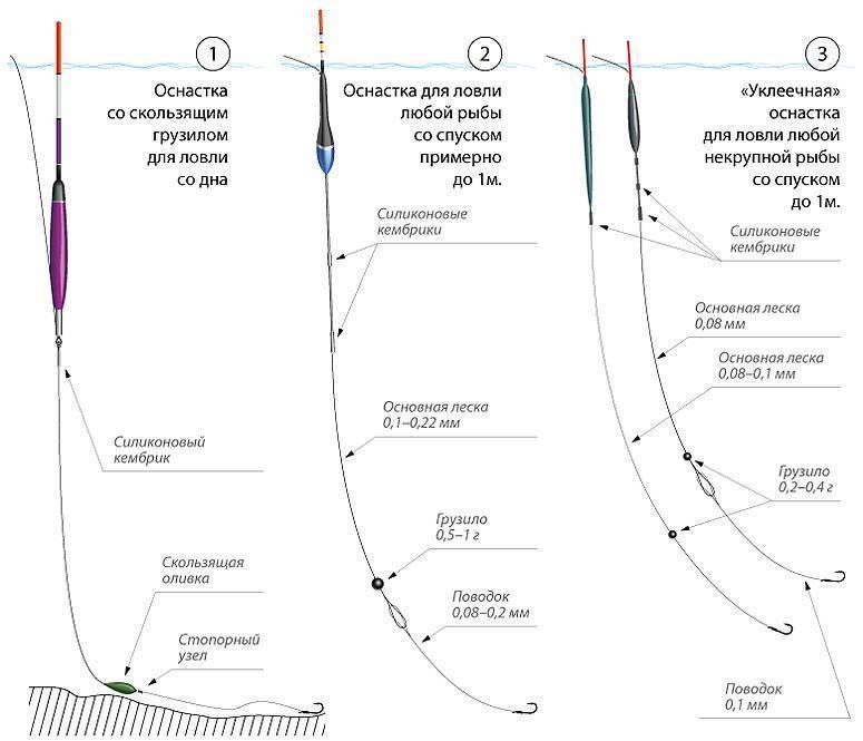 Поводок для рыбалки: какой длины должен быть, виды поводковых лесок для поплавочной удочки.