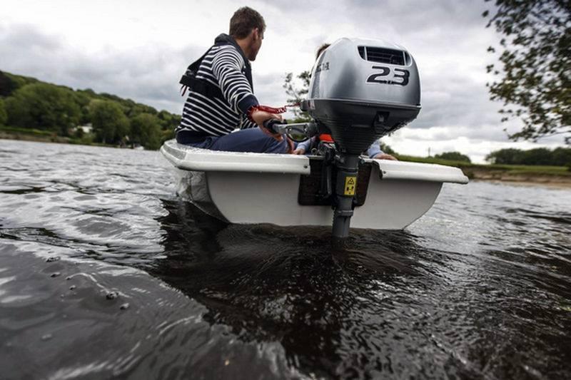 Тест 4-х тактных лодочных моторов 9,8 и 9,9 л.с.