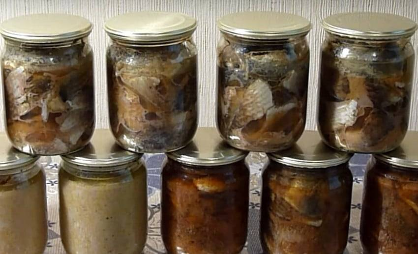 Консервы из рыбы в домашних условиях — 6 рецептов домашних рыбных консервов