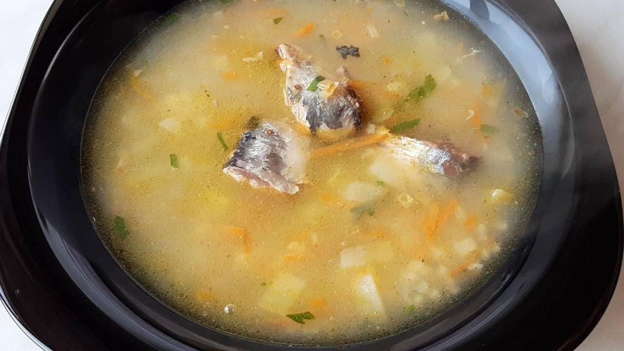 Суп из консервированной горбуши с пшеном - 9 пошаговых фото в рецепте