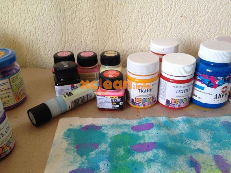 Как покрасить ткань в домашних условиях: доступные способы