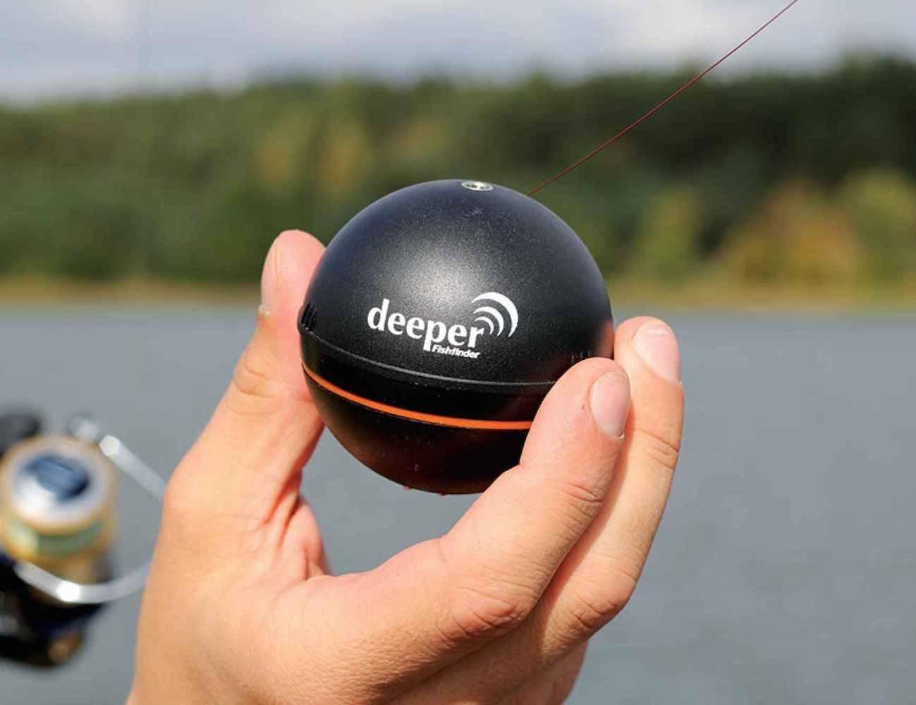 Эхолоты в форме шара для рыбалки