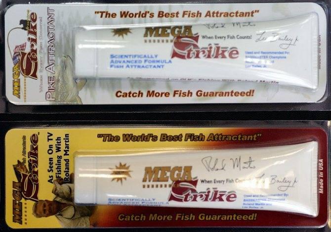 Аттрактанты для рыбалки, результат или пустая трата времени