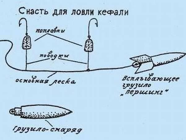 Снасть для ловли пеленгаса и кефали - самоделки для рыбалки своими руками
