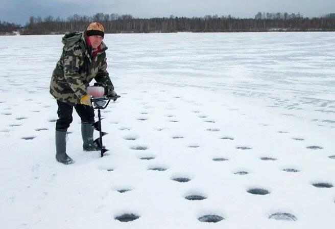 ᐉ где сверлить лунки на зимней рыбалке и как искать рыбу зимой - ✅ ribalka-snasti.ru