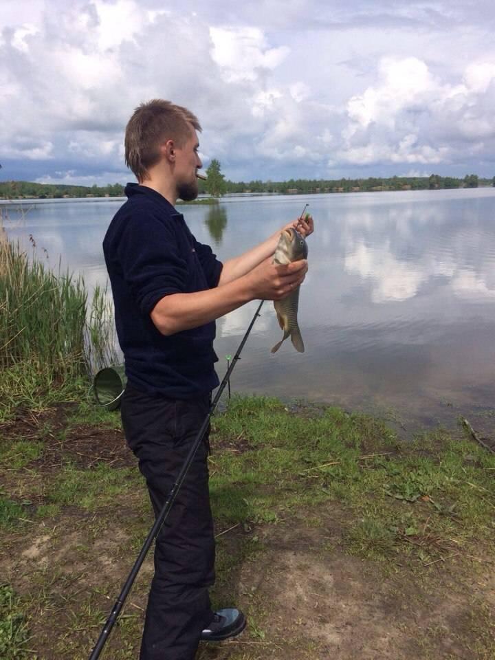Рыбалка в егорьевском рыбхозе, в егорьевске 2016