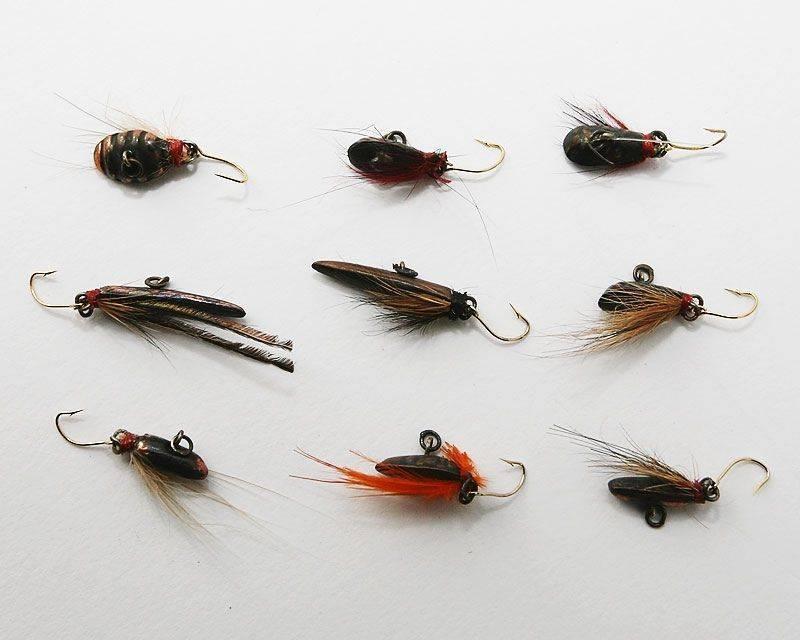 Безнасадочные мормышки для зимней рыбалки — техника ловли