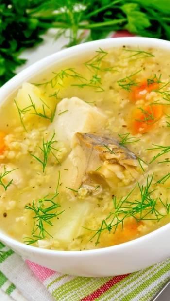 Рыбный суп со скумбрией - пошаговый рецепт с фото