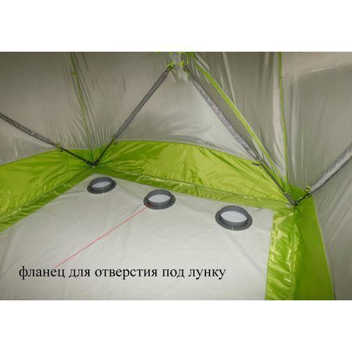Палатка для зимней рыбалки: куб или зонт?
