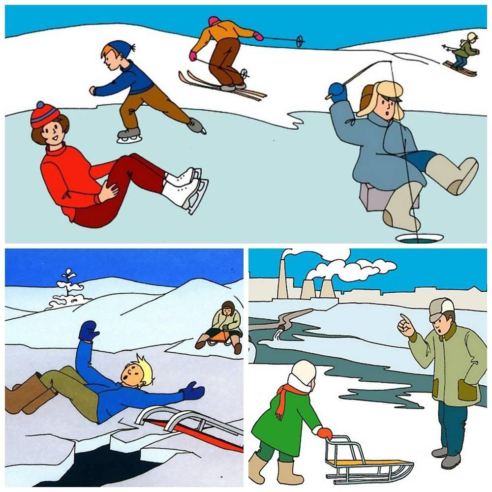 Конспект по безопасности «будь осторожен на льду»