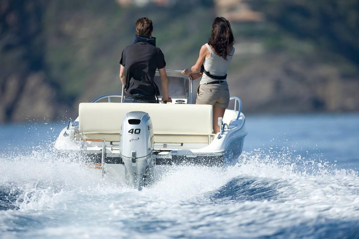 Подвесные лодочные моторы малой мощности
