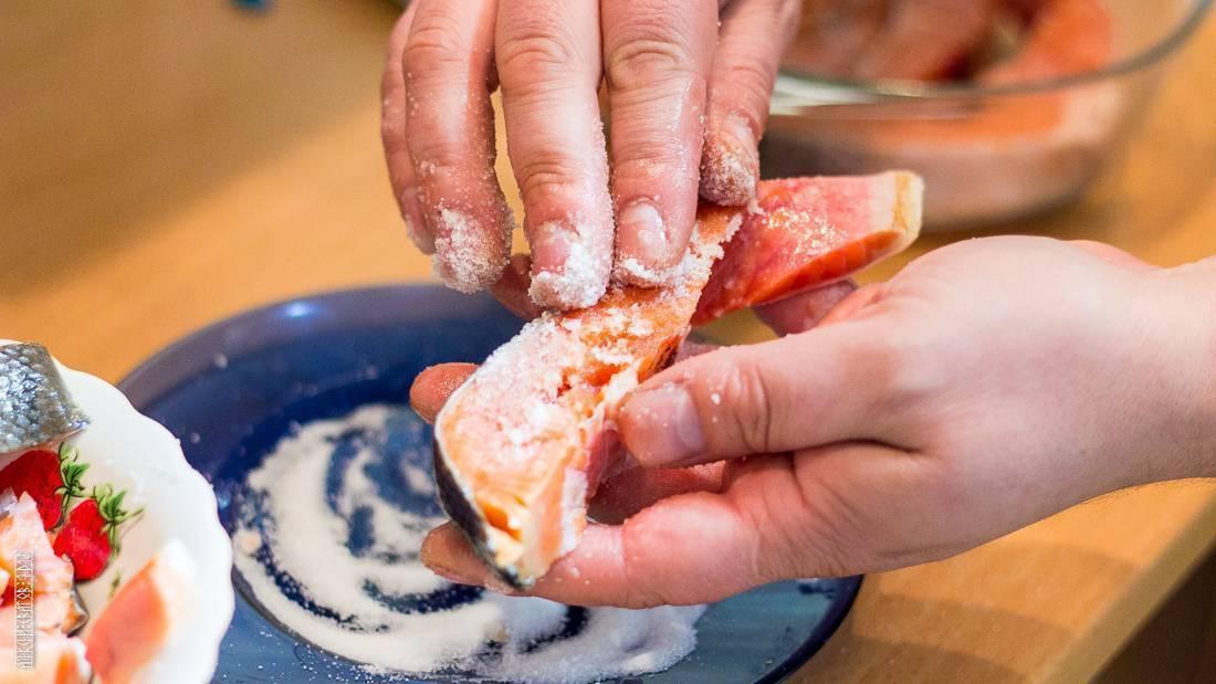Лосось соленый в домашних условиях — секреты и тонкости засолки