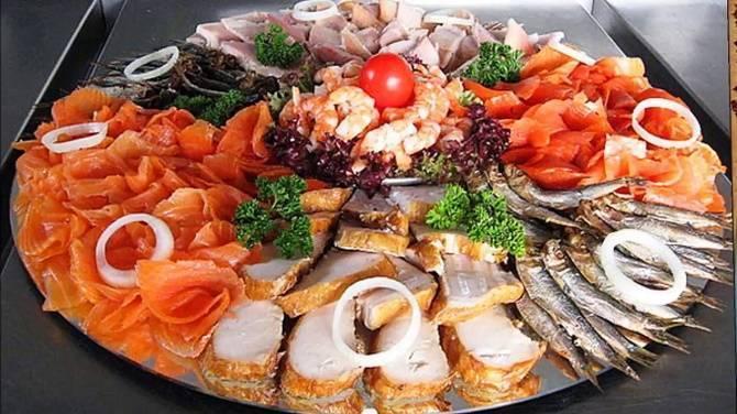 Рыбная нарезка на праздничный стол