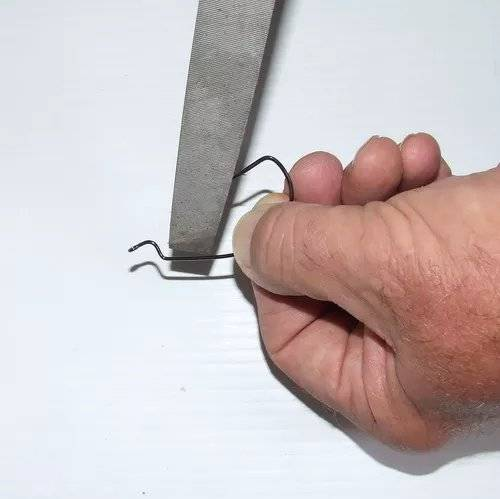 Как ухаживать за крючками и как правильно их точить