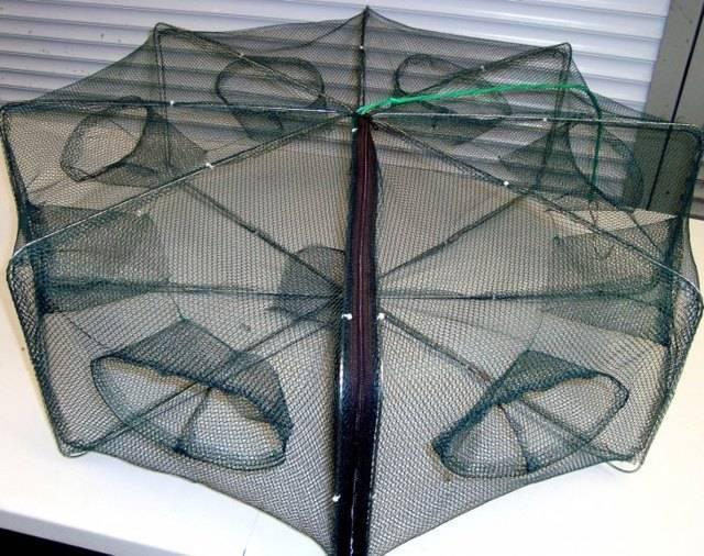 Изготовление снастей для ловли раков зимой своими руками