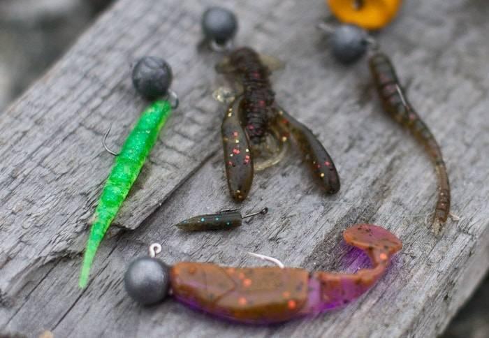 Ловля окуня спиннингом на микроджиг - приманки, крючки, монтаж