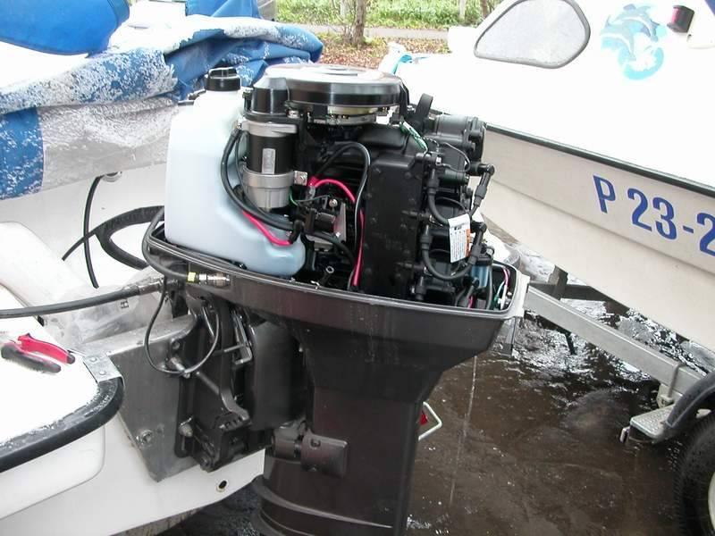 Консервация лодочного мотора на зиму - этапы подготовки и хранение