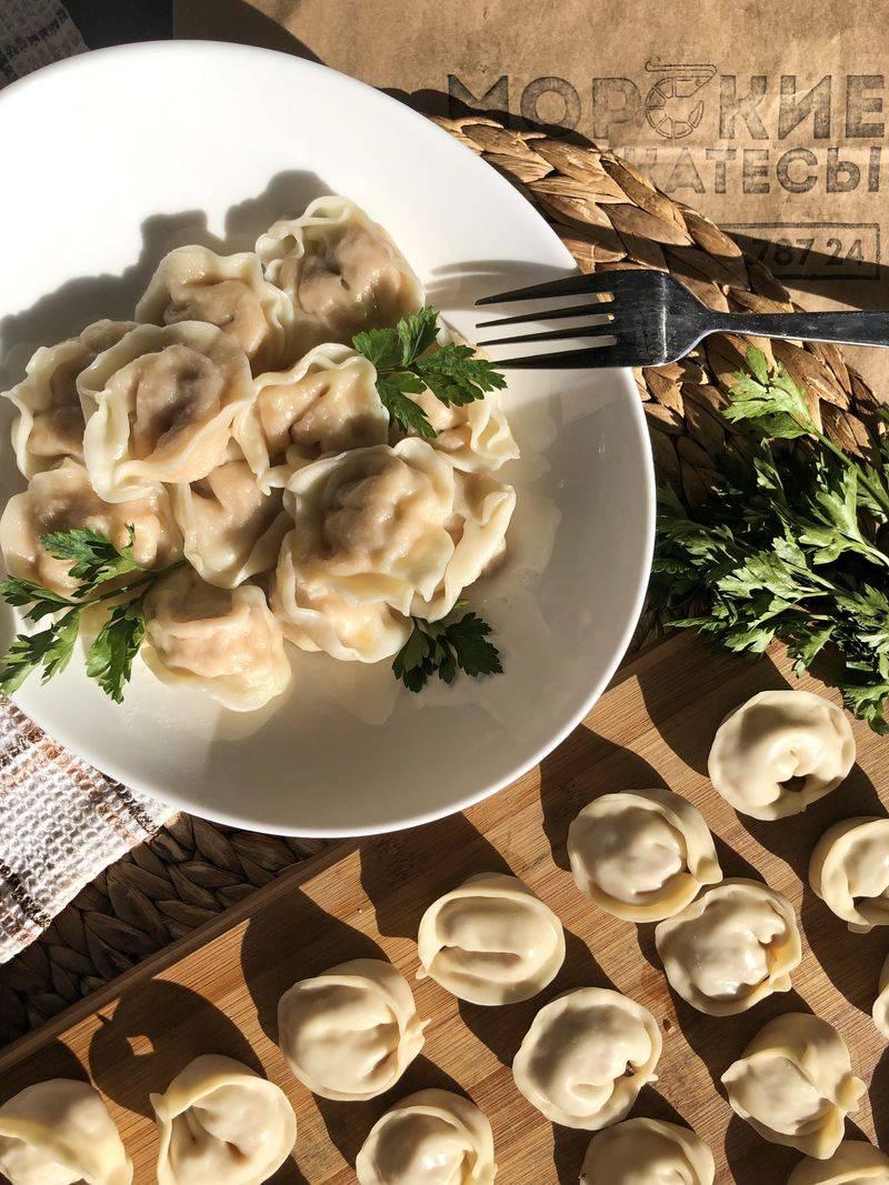 Китайские пельмени: рецепт блюда, пошаговое приготовление с фото, тесто для цзяоцзы на пару, прозрачные с крахмалом, жаренные, с креветками, мясом