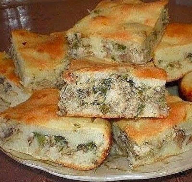 Заливной пирог (98 рецептов с фото) - рецепты с фотографиями на поварёнок.ру