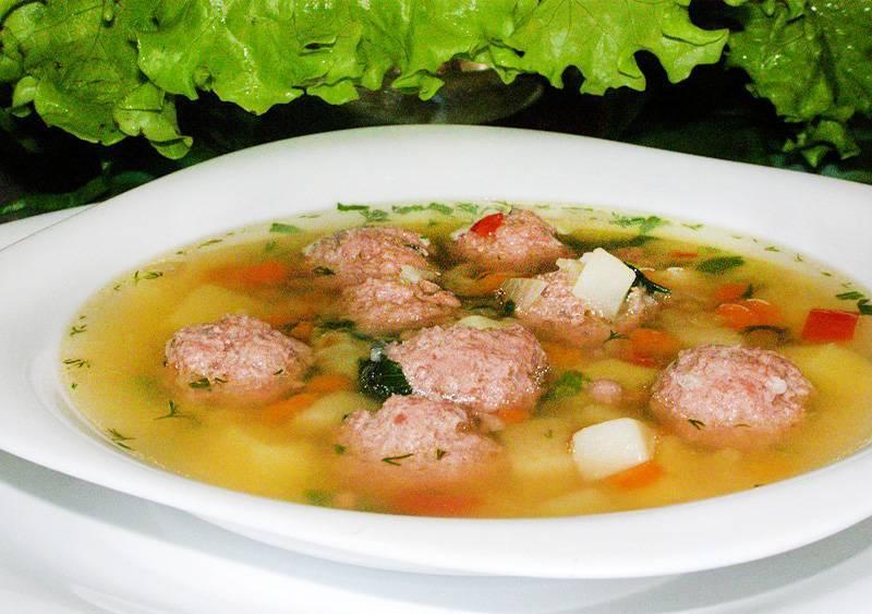 Суп с рыбными фрикадельками рецепт приготовления.