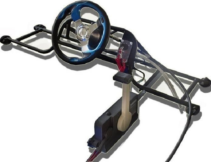 Рулевое управление на лодку своими руками. консоль для лодки