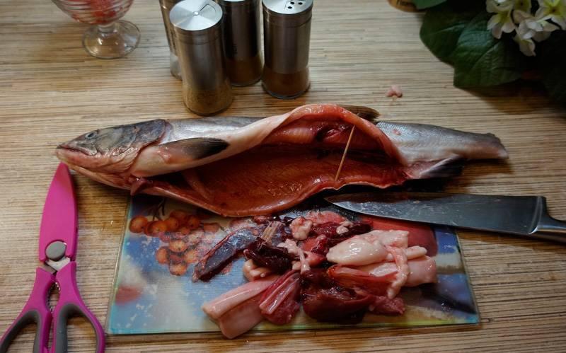 Разделка горбуши на филе. как разделать горбушу на филе. подготовка рыбы к засолке