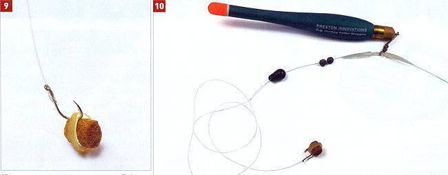 Карповая ловля — оснастка фидера, поплавочной удочки и резинки