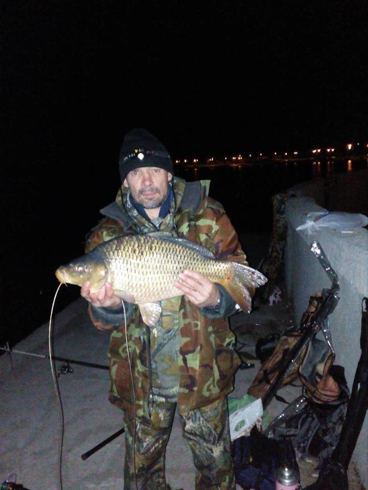 За трофейным карпом, Новомичуринское водохранилище рыбалка.