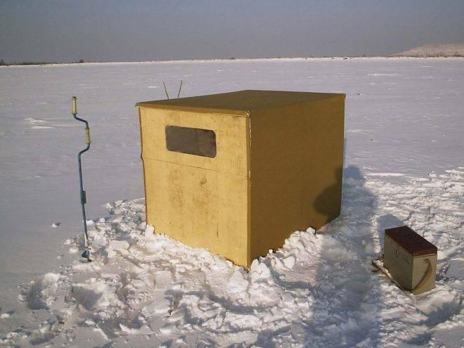 Зимняя палатка для рыбалки своими руками - пошаговое руководство