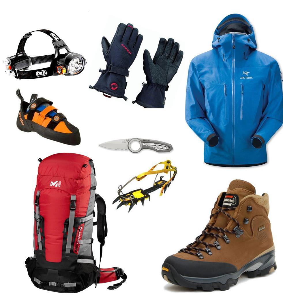 Альпинистское снаряжение: как выбрать, и что должно входить в снаряжение для альпинизма