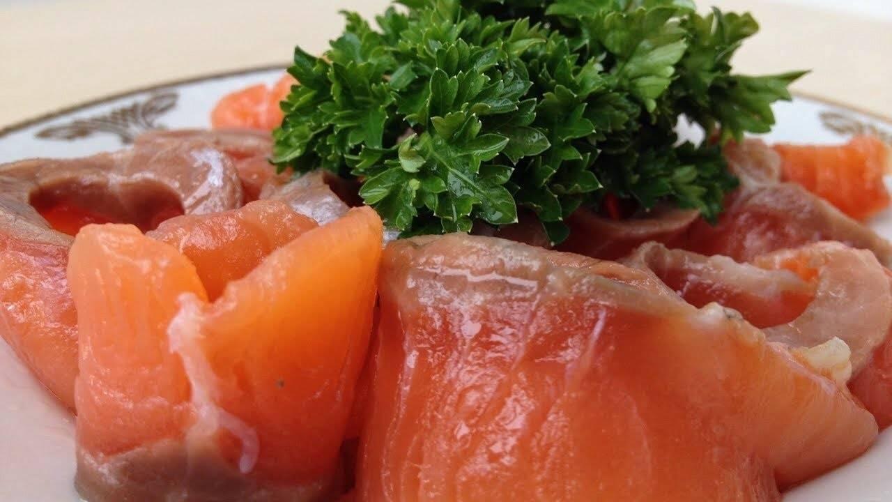 Как посолить лосось в домашних условиях вкусно и быстро, видео,