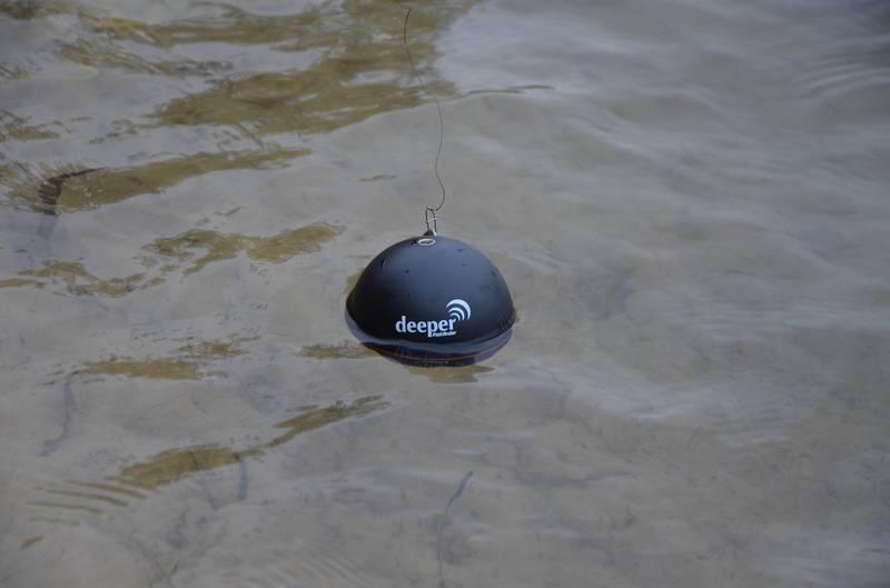 Эхолот deeper. промер глубины с помощью wi-fi bluetooth deeper эхолота