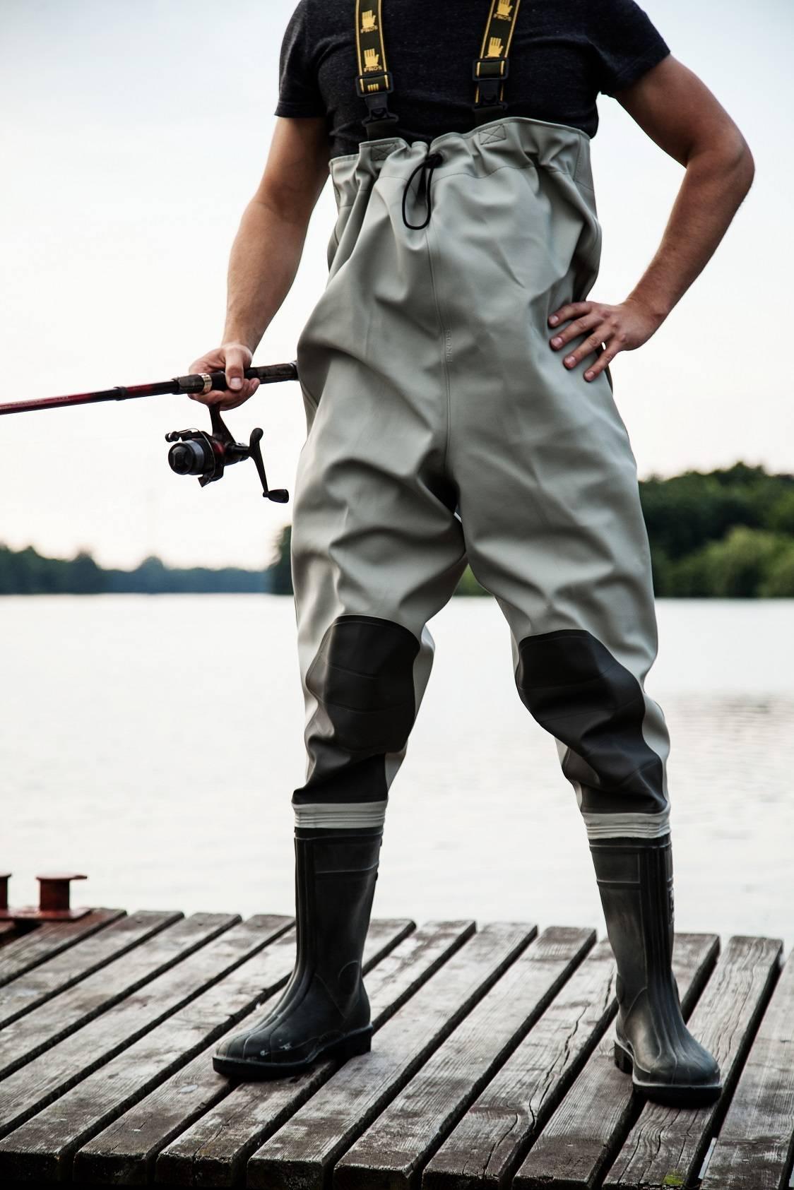 Экипировка рыболова: вейдерсы— что это такое?