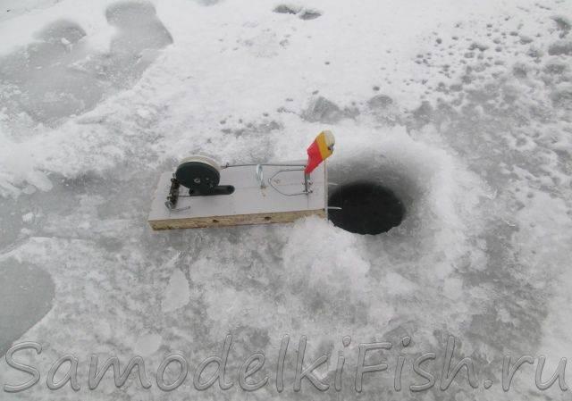 Oleg (oleg3211), самоподсекающая зимняя удочка