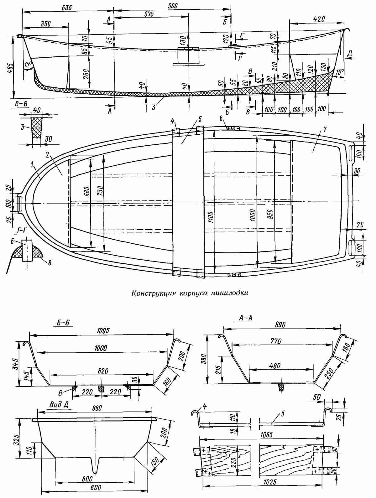 Лодка из фанеры своими руками - инструкция по изготовлению