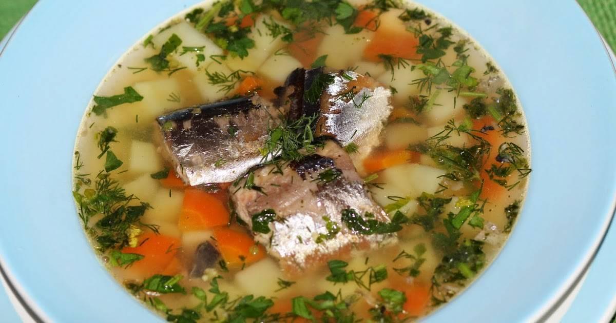 Суп из рыбных консервов сайра – все секреты и изюминки: рецепт с фото и видео