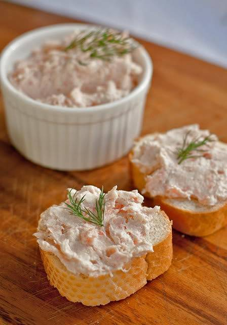 Риет из лосося рецепт с фото - 1000.menu