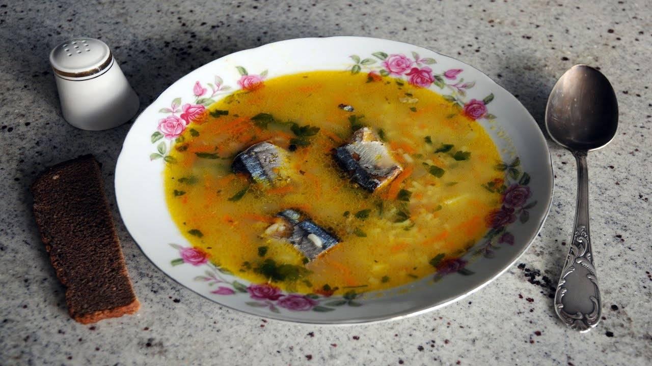 Как приготовить суп из рыбных консервов сайра по пошаговому рецепту - кушаем вкусно