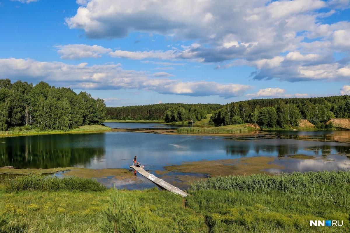 Озёра нижегородской области и нижнего новгорода