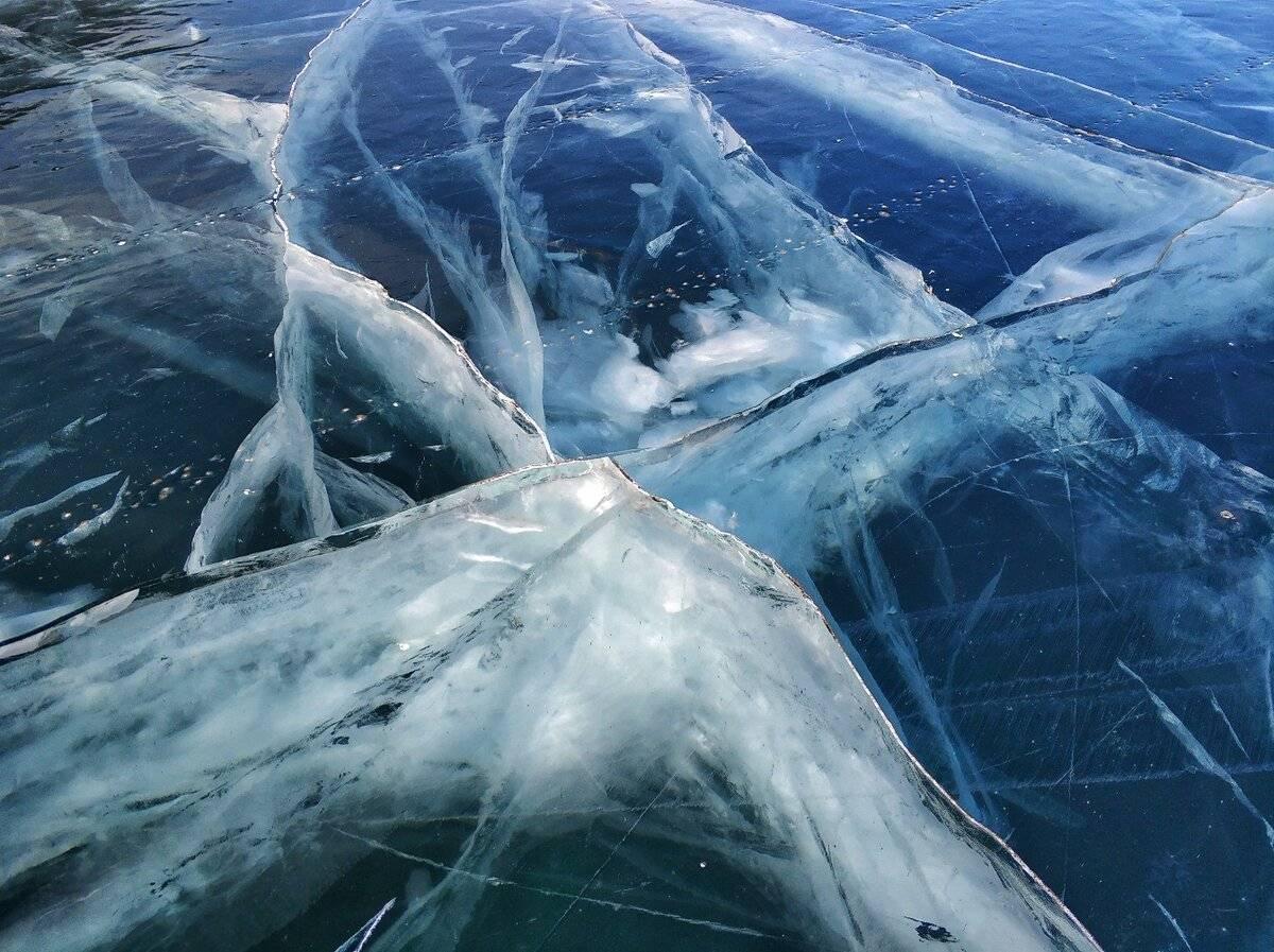Когда на байкале прозрачный лед? тур на байкал