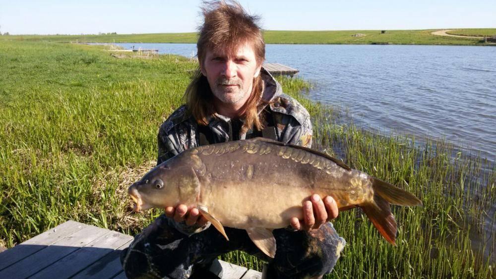 Рыбалка на львовских прудах